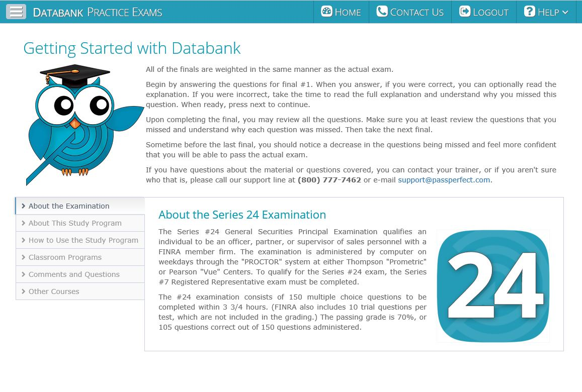 Series 24 - Databank Getting Started